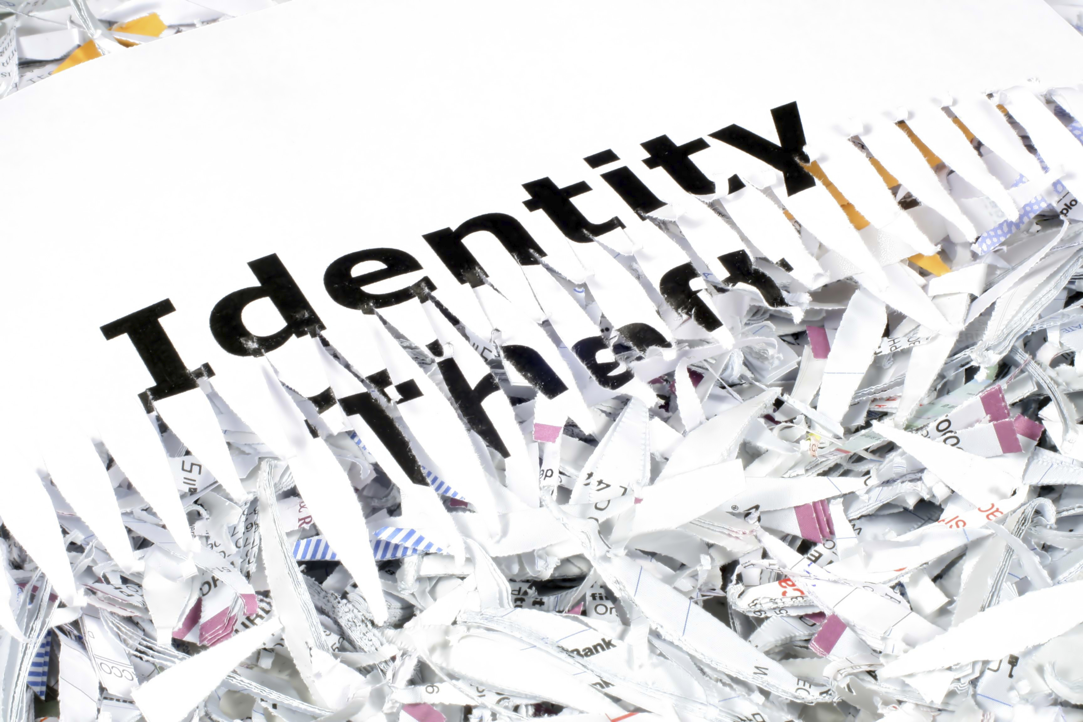Identity Theft Risks & Shredded Paper